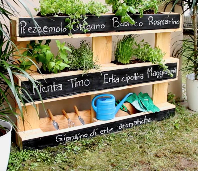 Come creare un giardino di erbe aromatiche
